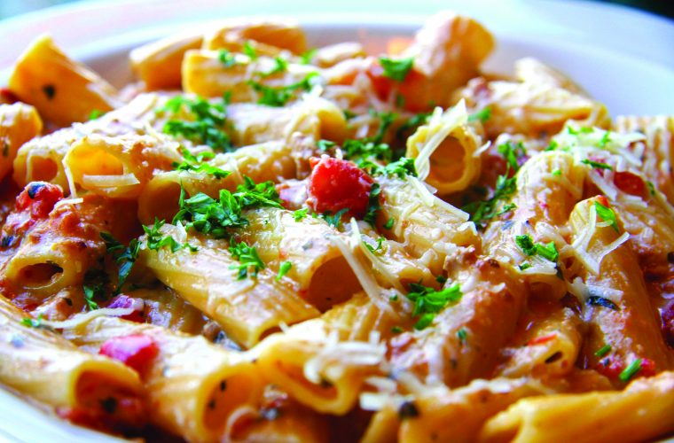 rigatoni-bolognese-partypan-catering-strizzis-bayarea-fremont